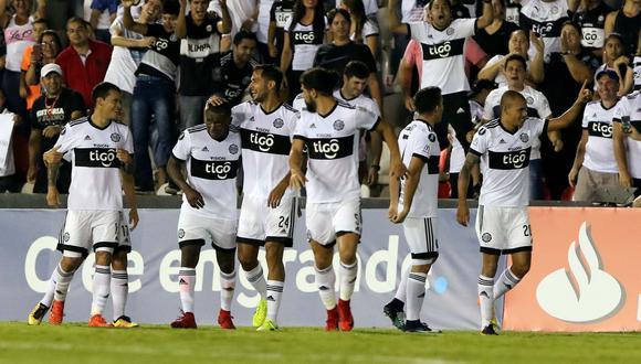 Olimpia ganó 2-0 a Santiago Wanderers y sigue en Libertadores. (Foto: AFP)