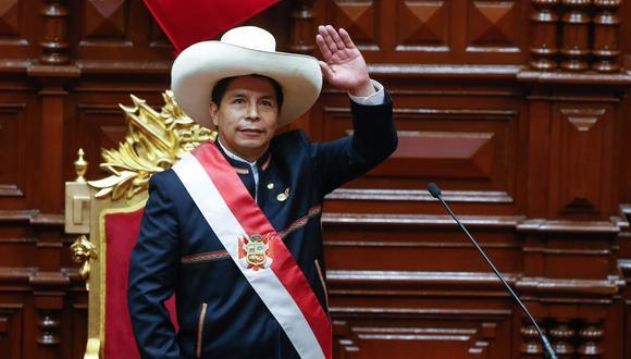 Ceremonia de Toma del Mando Supremo del Presidente de la República Pedro Castillo Terrones.