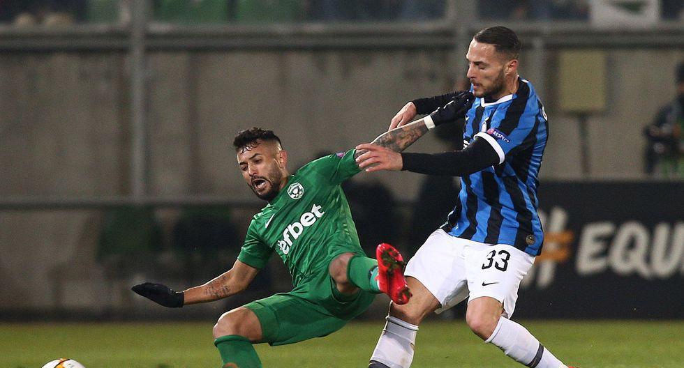 Inter de Milán vs. Ludogorets: las mejores postales del partido de Europa League. (Foto: Agencias)