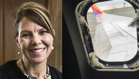 La mujer fue identificada como Jennifer Riordan, una ejecutiva bancaria de Wells Fargo y madre de dos hijos originaria de Albuquerque, Nuevo México