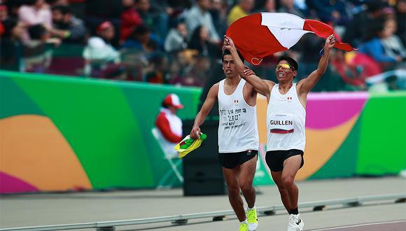 Rosbil Guillen se llevó la medalla de oro en 1500 metros masculino de los Juegos Parapanamericanos.