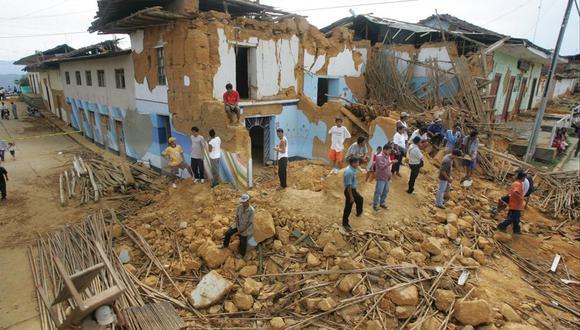 Además de afectar al pueblo sanmartiniense, el violento sismo también se sintió en Bagua, Pucallpa, Iquitos, Cajamarca, Yurimaguas, Chachapoyas, Tumbes, Piura, Chiclayo, Trujillo, Huaraz, Lima e Ica. (Foto: GEC)