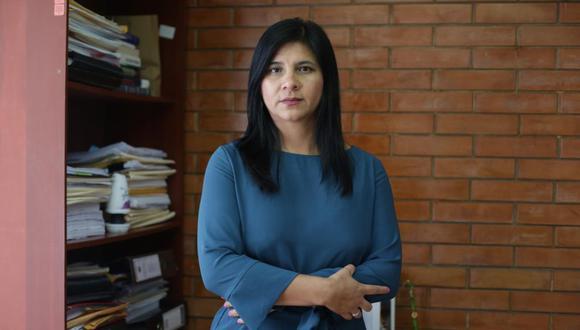 La procuradora Silvana Carrión participará en la pesquisa que inició el equipo especial contra el presidente Martín Vizcarra por Lomas de Ilo y el Hospital Regional de Moquegua. (Foto: GEC)