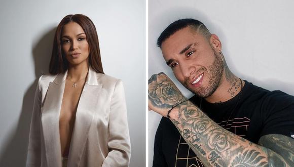 Angie Arizaga y Jota Benz confirman que salen en una relación exclusiva. (Foto: Instagram / @angiearizaga / @jotabenz92).