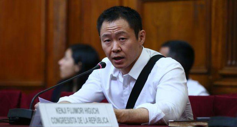 Kenji se pronuncia en medio de debate por proyecto fujimorista