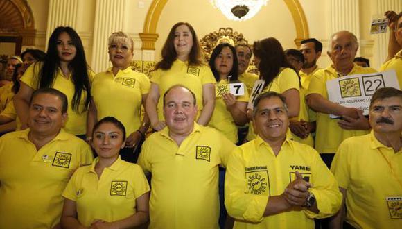 Solidaridad Nacional no superó la valla electoral y no logró ingresar al Congreso (Foto: GEC)