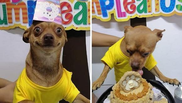 Odín cumplió 3 años y su familia lo celebró con una alegre fiesta. (Foto: La cocina de Bow | Facebook)