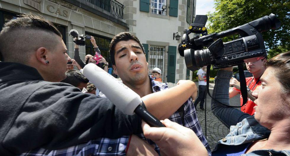 Suárez declaró cinco horas ante el TAS para rebajar su sanción - 12