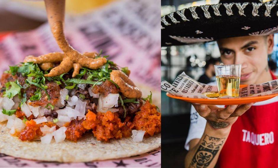 El público podrá degustar de tacos y tequila. (Fotos: Chinga tu taco)