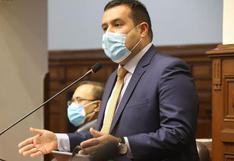 """Franco Salinas, vocero de Acción Popular, considera que fiscal de la Nación """"se burla del Congreso"""" por no asistir a Comisión de Justicia"""