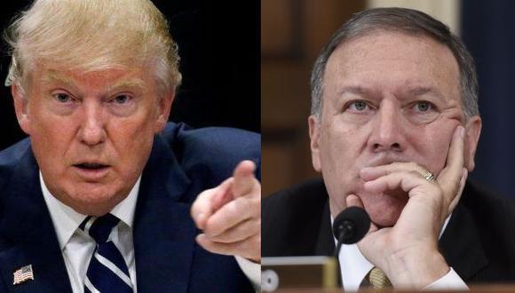 Trump pondrá como jefe de la CIA al congresista Mike Pompeo