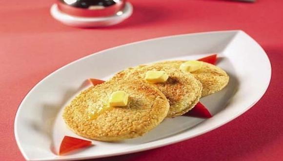 Arepas con queso