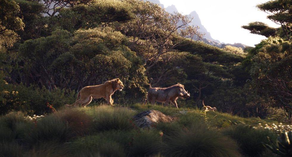 """""""El rey león"""". (Foto: Difusión)"""
