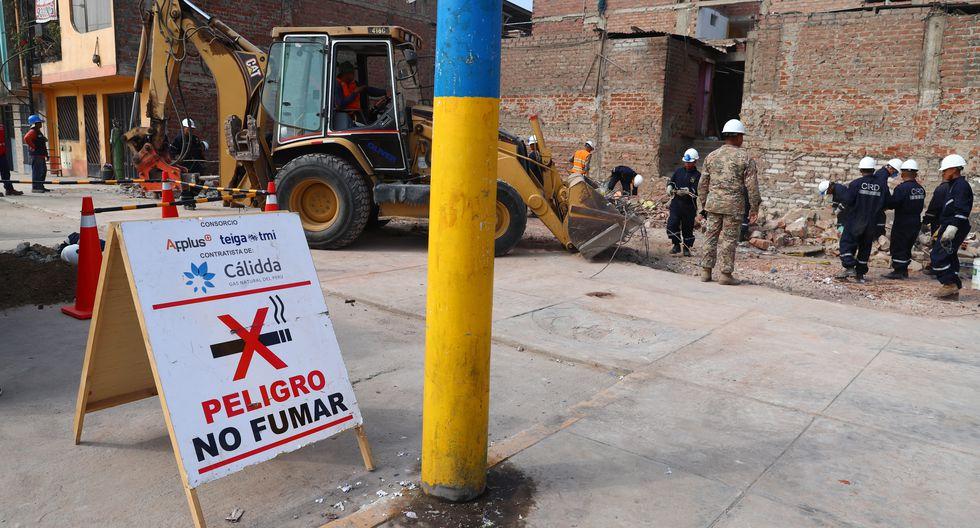 Dos casas han sido completamente derrumbadas, al haber sido declaradas inhabitables. Según Indeci, otras cuatro requieren que se refuercen sus estructuras y se hará mantenimiento a 18 más (Foto: Alessandro Currarino/El Comercio).