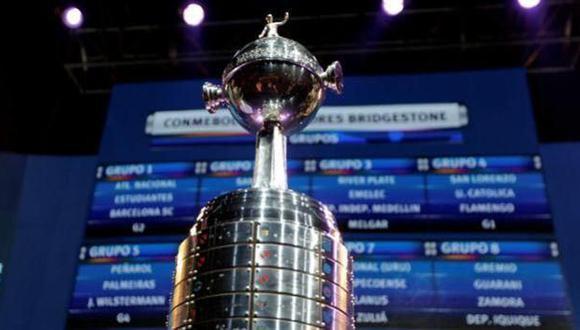 Copa Libertadores: tablas de posiciones de los 8 grupos