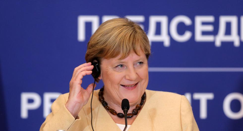 La canciller alemana, Angela Merkel, llegó al poder en noviembre del 2005. Desde ese año, ha sido una de las figuras más relevantes de la Unión Europea.  Photographer: Oliver Bunic/Bloomberg