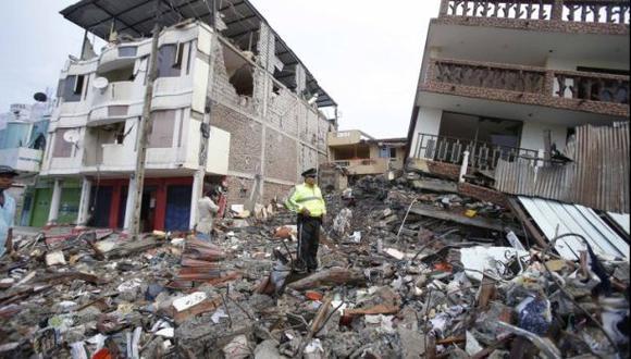 Terremoto en Ecuador: hasta el momento no hay víctimas peruanas