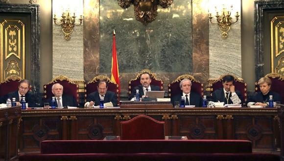 Finaliza histórico juicio contra independentistas catalanes en España. Foto: AFP