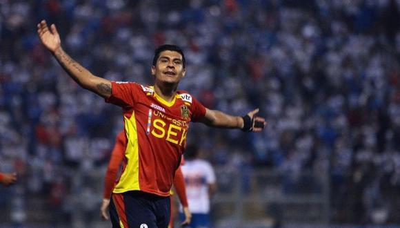 Patricio Rubio jugó en Unión Española entre las temporadas 2012 y 2013. (Foto: Internet)