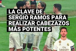 Sergio Ramos y su secreto para ser uno de los defensores más goleadores del mundo