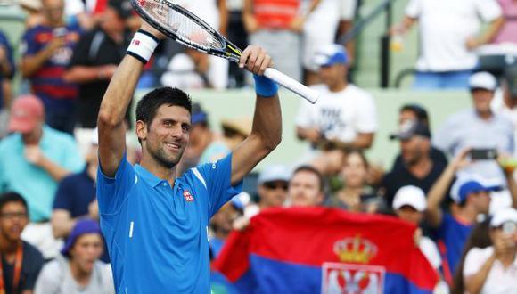Djokovic ganó a Sousa y sigue firme en Masters 1000 de Miami
