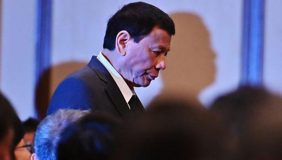 El presidente de Filipinas Rodrigo Duterte en una imagen del 31 de mayo del 2019 en Tokio, Japón. (Foto: CHARLY TRIBALLEAU / AFP).