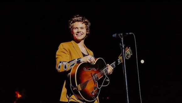 "Harry Styles lanzó el video oficial de ""Golden"". (Foto: @harrystyles)"