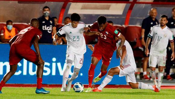 México y Panamá empataron 1-1 por las Eliminatorias Concacaf | Foto: EFE.
