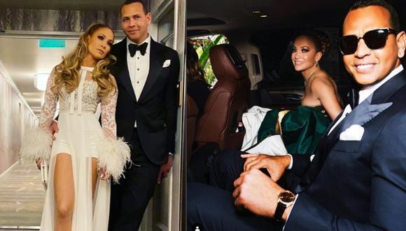 Jennifer Lopez y Alex Rodríguez invitarían a sus exparejas a su boda. (Fotos: Instagram)