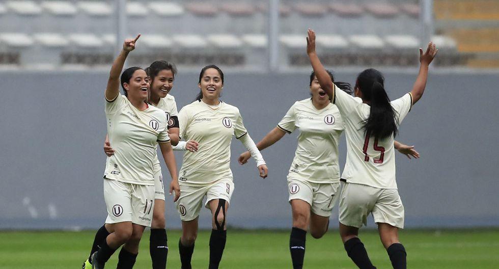 Alianza Lima vs. Universitario femenino: cremas se quedaron con el título de la Zona Lima del Campeonato Nacional de Fútbol Femenino. | Foto: Andina