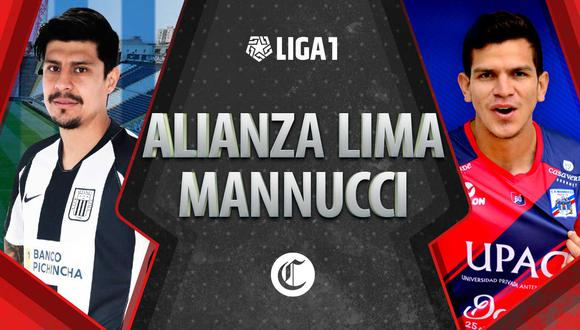 Alianza Lima tendrá un difícil partido este miércoles con Mannucci por la Liga 1.