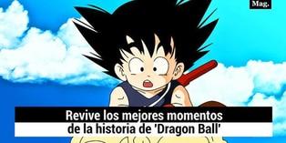 Revive los mejores momentos en la historia de 'Dragon Ball'