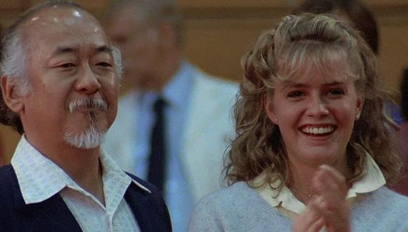 "Elisabeth Shue dio vida a Ali Milss en ""Karate Kid"". (Foto: IMDB)"