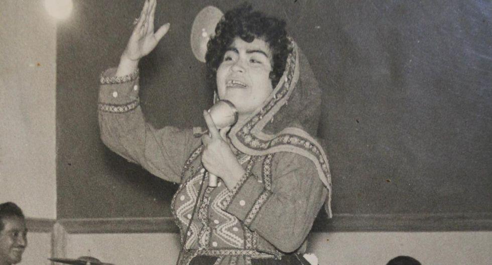 """Carmencita Lara, la inolvidable voz de """"Olvídala amigo"""", falleció. (Foto: El Comercio)"""