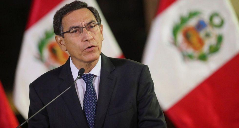 El presidente Martín Vizcarra informó que, en lo que va del año, la inversión pública ha crecido 60%. (Foto: GEC)