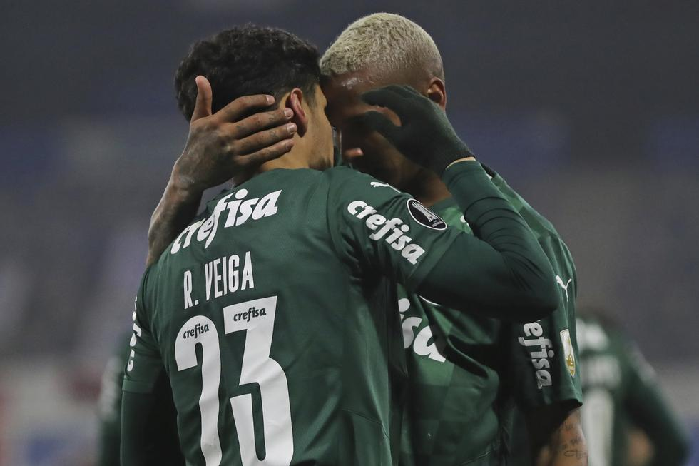 U. Católica enfrentó a Palmeiras por la ida de los octavos de final de la Copa Libertadores 2021