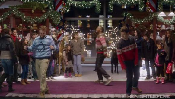 "Seth Rogen y Joseph Gordon-Levitt protagonizan parodia de ""Big"""