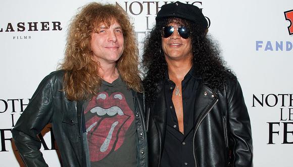 Guns N' Roses: Steven Adler, ex baterista de la banda, fue hospitalizado tras apuñalarse. (Foto: AFP)