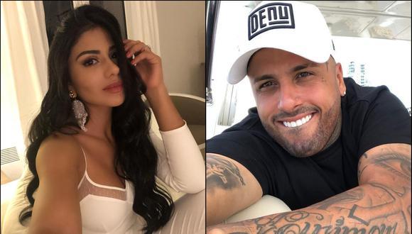 El cantante de reggaetón pagará una ostentosa manutención a la modelo colombiana. (Foto: Composición/instagram)