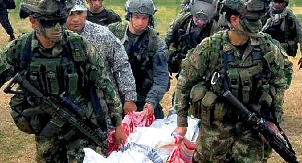 """Colombia: Las últimas palabras de el 'Indio', el narco del Clan del Golfo abatido por un francotirador. (""""El Tiempo"""" de Colombia, GDA)."""