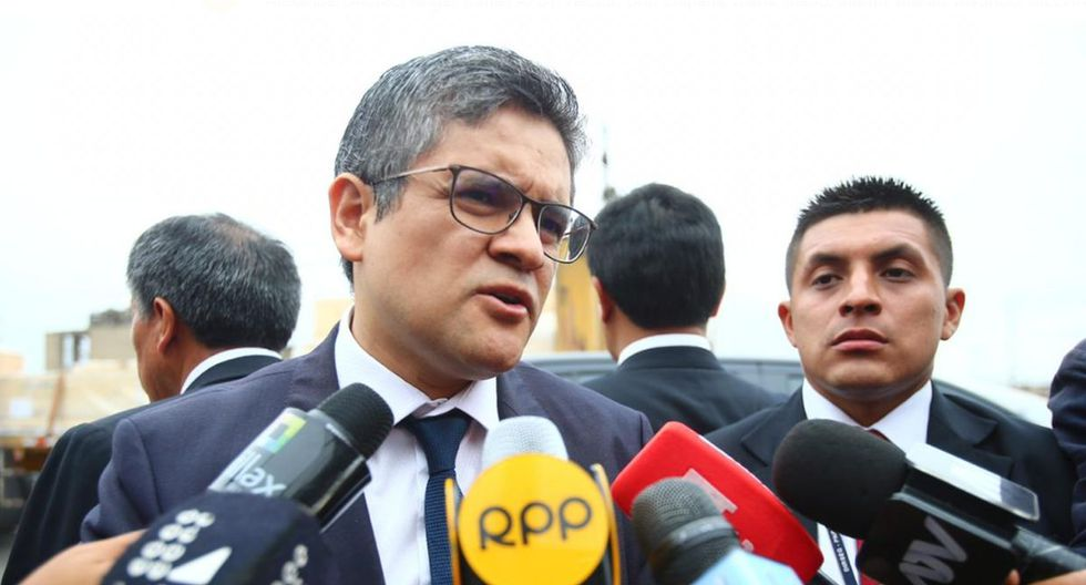 Fiscal José Domingo Pérez reiteró que el TC debe responder por las críticas a la resolución que permitió la liberación de Keiko Fujimori. (Foto: Hugo Curotto/GEC)