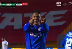 Tigres vs. Cruz Azul; Luis Romo marcó el 1-0 de los cementeros por la Liga MX   VIDEO