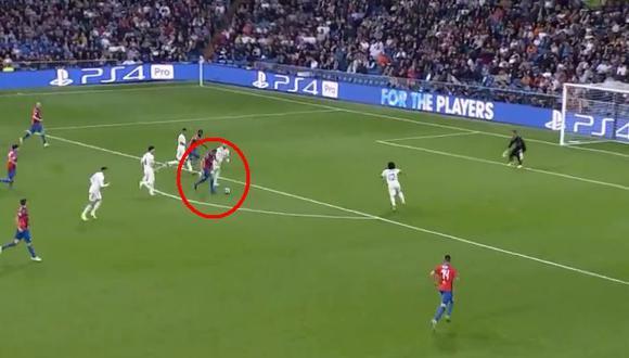 Real Madrid vs. Viktoria Plzen: Hrosovsky y el 2-1 con gol que no pudieron contener Ramos, Marcelo y Navas. (Video: YouTube/Foto: Captura de pantalla)