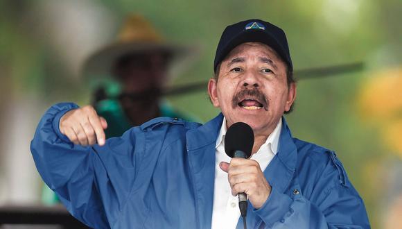 El presidente de Nicaragua Daniel Ortega. (Foto: AFP).