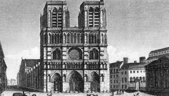 """En el siglo XIX los franceses creían que los edificios góticos eran """"monstruosos""""."""