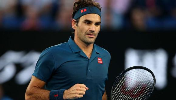 Roger Federer perdió en cuatro sets frente a Stefanos Tsitsipas y se despidió en octavos de final en Melbourne (Foto: agencias)