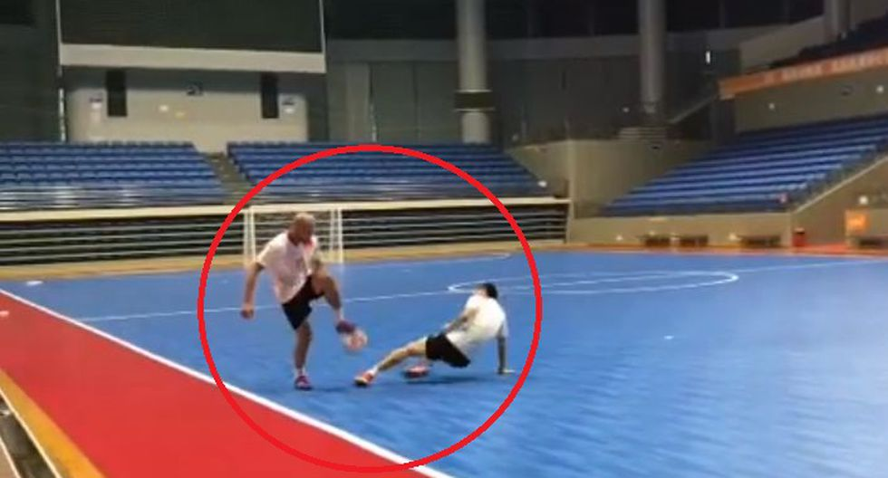 En YouTube circula un video sobre la fantástica jugada de Serginho Paulista. El jugador de futsal realizó un regate imposible de igualar. (Foto: Captura).