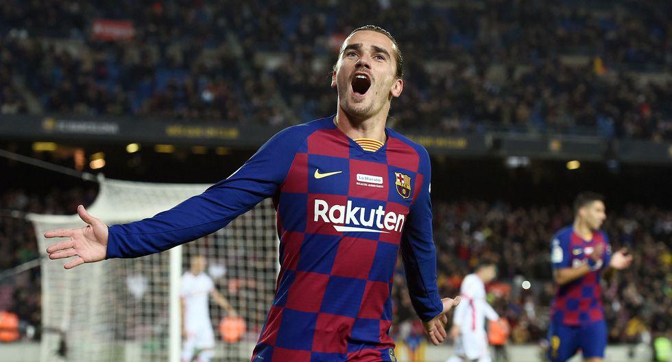 Griezmann llegó para esta temporada al Barcelona. (Foto: AFP)