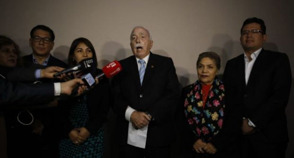 """La bancada de Fuerza Popular afirmó que Pedro Olaechea abre una salida política """"priorizando el interés supremo del Perú antes que los deseos particulares y partidarizados"""". (Foto: GEC)"""