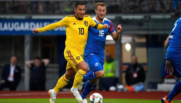 Bélgica vs Islandia EN VIVO vía DirecTV Sports: este martes por la UEFA Nations League. (Foto: Twitter)